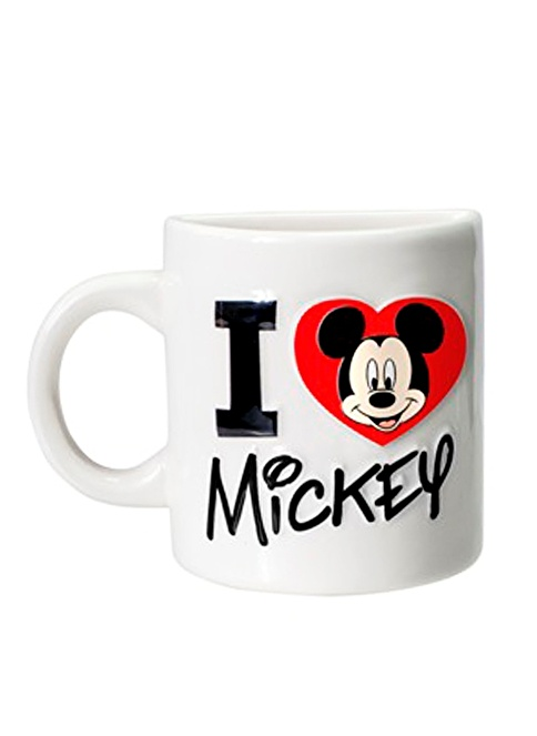 Monogram International Mickey Mouse I Love Cup Magnet Renkli
